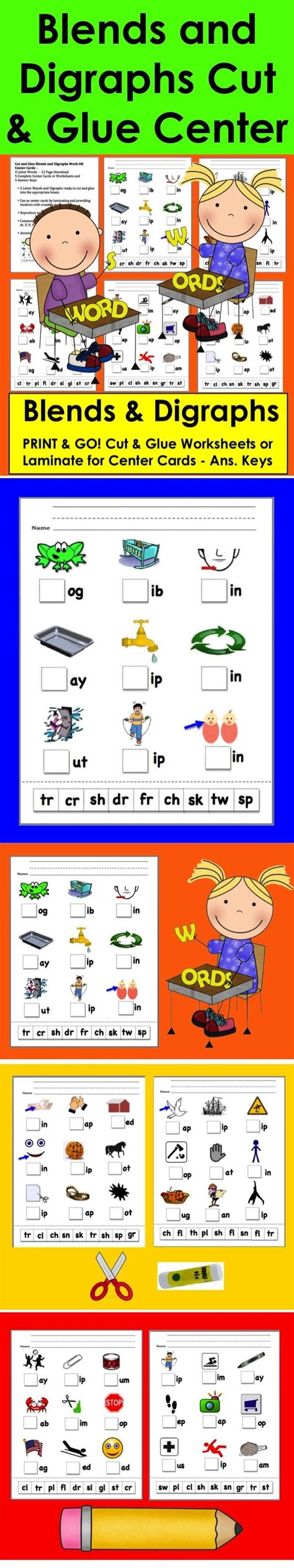 best 25 digraphs worksheets ideas on phonics