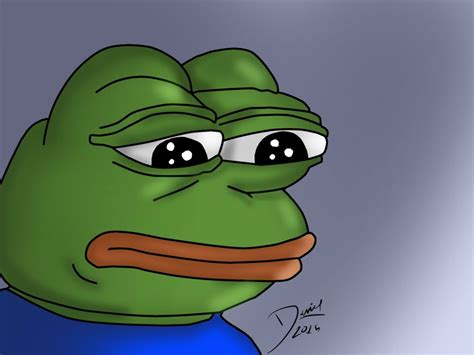 Sad Frog Meme Pepe Sad Frog Blank Template Imgflip