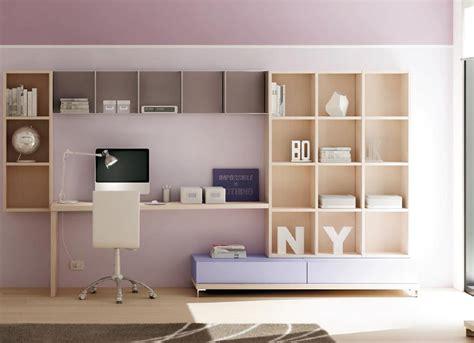 bureau murale bibliotheque murale multi cases avec tiroirs dynamic