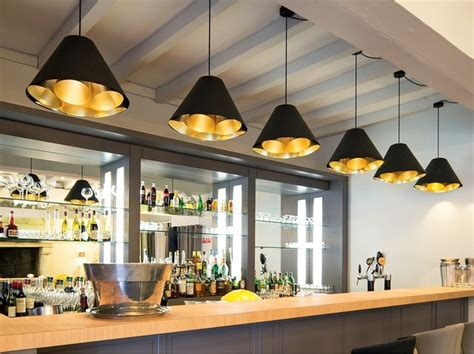 eclairage bar cuisine luminaires made in belgium contemporain bar de salon