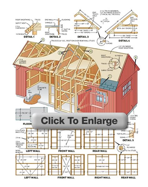 Storage Building Blueprints Pictures by Woodwork Outdoor Storage Sheds Building Plans Pdf Plans