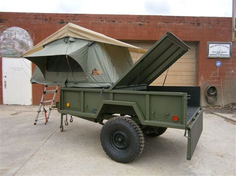 military jeep trailer 18 best military trailer conversion images on pinterest
