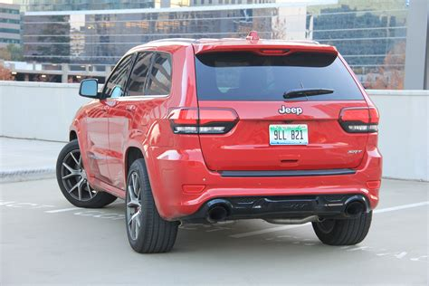 jeep grand cherokee 2017 srt8 the 2017 grand cherokee srt is in a lane of its own the