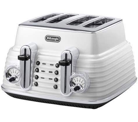 delonghi toaster buy delonghi ctz4003w scultura delonghi toaster white