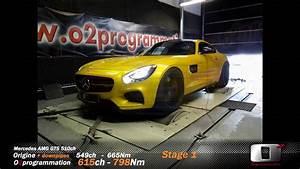 Reprogrammation Stage 2 : reprogrammation stage 2 mercedes amg gts o2programmation sur banc youtube ~ Maxctalentgroup.com Avis de Voitures