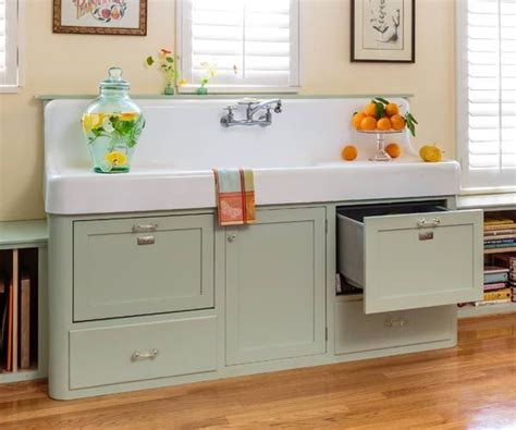 Retro Kitchen Redo   Green cabinets, Retro style and