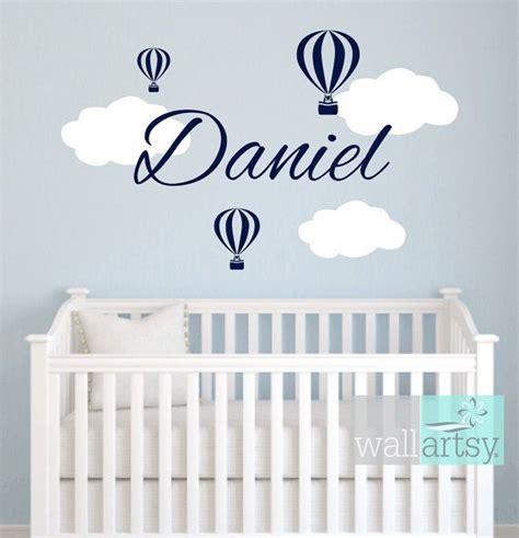 hot air balloon themed nursery  toddler room