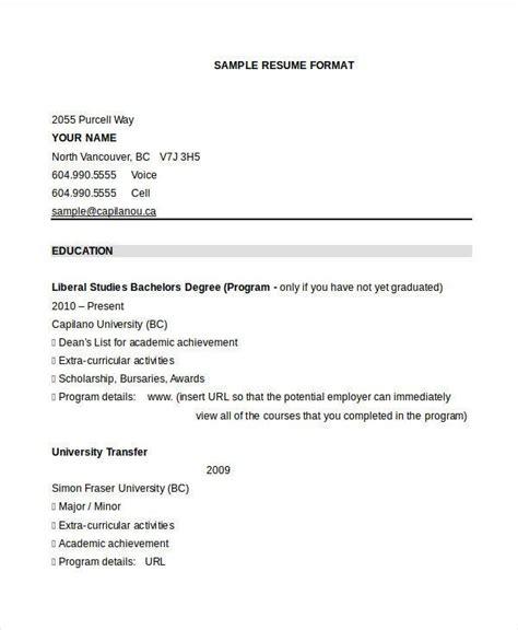 resume formats   psd  premium