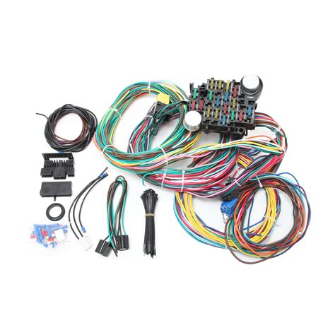 Universal Unit Wiring Harnes by Universal 24 Circuit Wire Harness Kit Racing Power Company