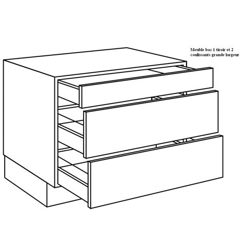tiroir pour cuisine casserolier de cuisine pour plaque de cuisson largeur 120cm