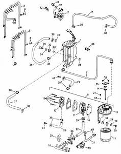 Fuel Components Parts For 1998 90hp E90fslecs Outboard Motor