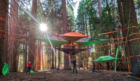 Hammock In The Trees tentsile hammock tents make a treetop adventure or
