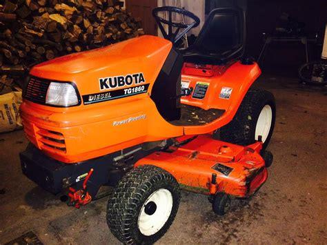 diesel lawn tractor kubota diesel lawn tractor tg1860 summerside pei 3322