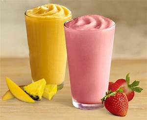 fruit smoothies healthy items you can order from burger