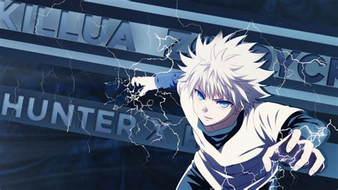 hunter  hunter killua  hd anime wallpapers hd