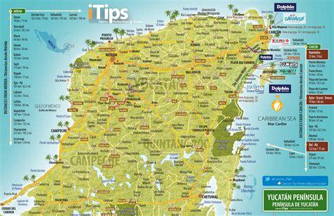yucatan map cancun tips