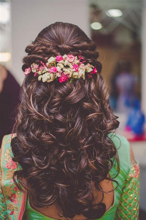 Breath stopping Hair Styles Kerala Wedding Style
