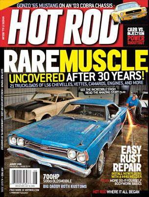 muscle car restorations  news