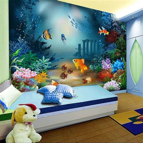 wallpaper cartoon  woven children room  adhesive