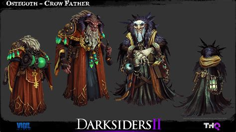 Darksiders 2 Artwork by Detailed Darksiders Ii Game Models Darksiders Dungeon