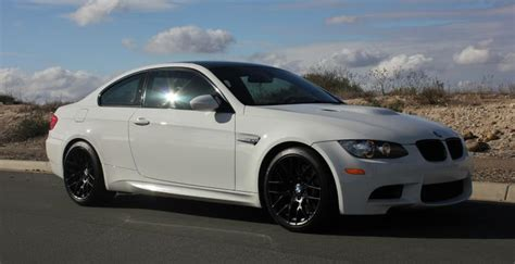 2013 Bmw M3 Light Weight Alpine White 6 Speed Cloth