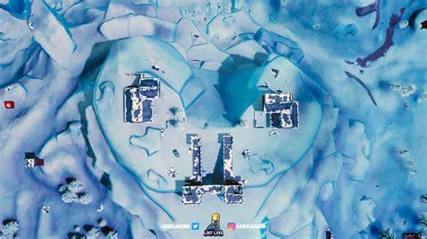 fortnite  map  polar peak golem family