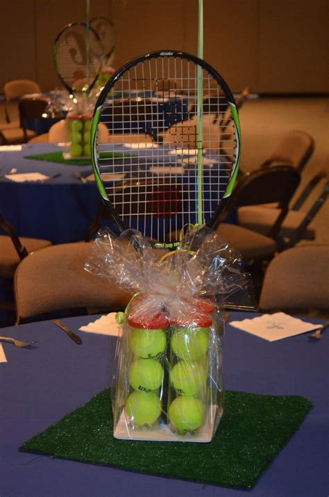 sports centerpieces for tables 17 best images about tennis banquet centerpiece ideas on
