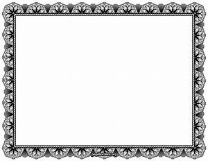 Black Certificate Borders Pictures to Pin on Pinterest ...