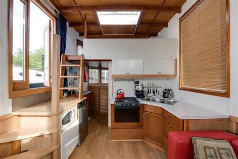 cute houseboat  affordable living   unique