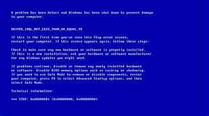 Fix Blue Screen of Death (BSoD) Errors in Windows XP