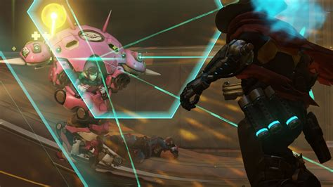 Overwatch Wallpaper Games Action Overwatch Dva Shooter Playstation 4 Xbox One Windows