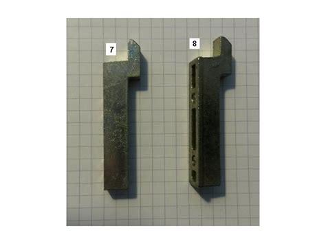 g 226 che m161 pour recevoir le crochet des fermetures de baies coulissantes et des coulissants alu