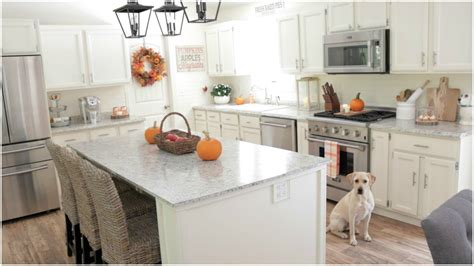 fall decorating ideas  fall kitchen decor youtube