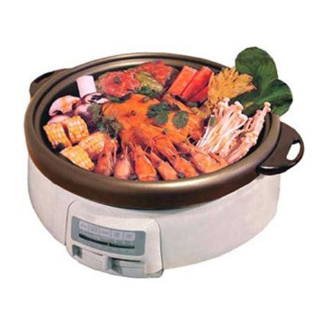 electric multi cooker shabu shabu pot
