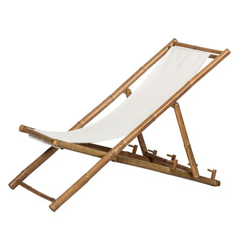 Chaise Longue Bambou by Chaise Longue Bamboo Bambou Textile Silva Outdoor En