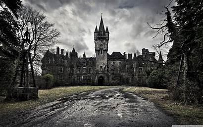Castle Wallpapers Scary 4k Spooky Desktop Cave