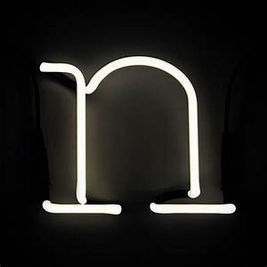 seletti neon wall light letter n iwoot With lighted letter n