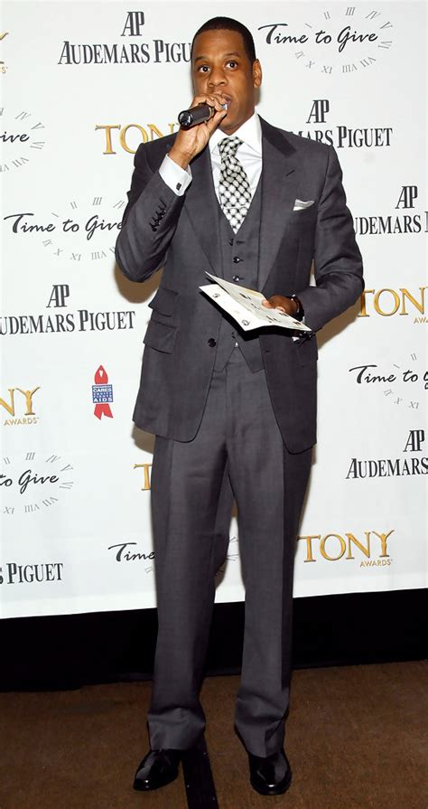 Jay Z Men's Suit - Jay Z Suits Looks - StyleBistro