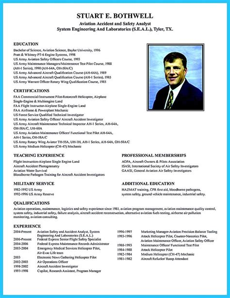 Pilot Resume Format by Cool Learning To Write A Great Aviation Resume Resume