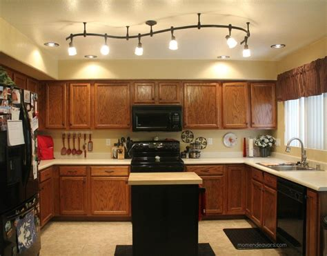 decorative track lighting kitchen mini kitchen remodel new lighting makes a world of 6509
