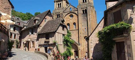 Saint Jacques Compostelle  Aumont Aubrac à Conques