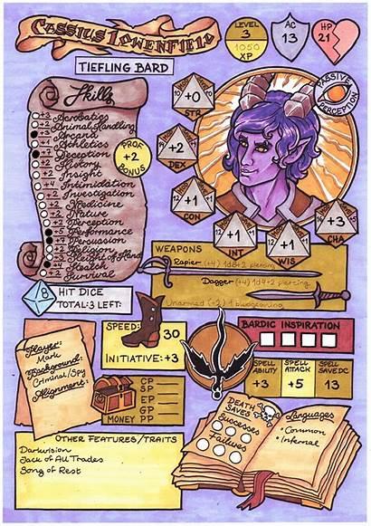 Character Custom Sheets Dragons Dungeons Sheet Marvel