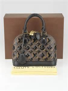 louis vuitton limited edition black monogram eclipse alma