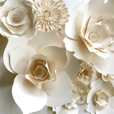 Hanging paper flowers up can make your room feel vibrant and lovely. Paper Flower Wall Decor large paper flower paper flower