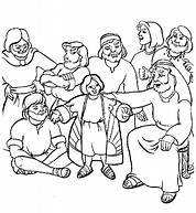 HD Wallpapers Free Coloring Page Joseph Coat Of Many Colors