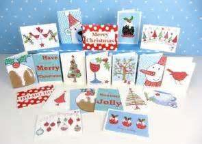 christmas cards dots and spots