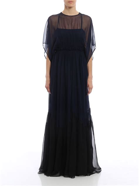 open  silk chiffon dress   evening dresses