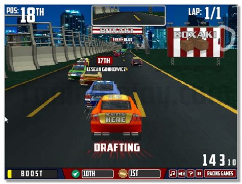 Nascar Games Unblocked