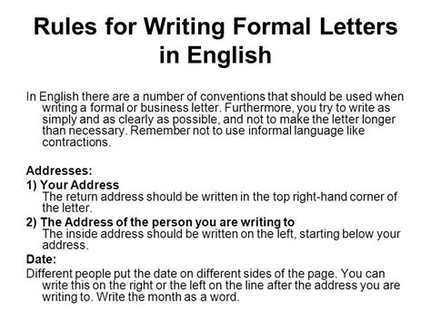awesome   write  formal letter   format