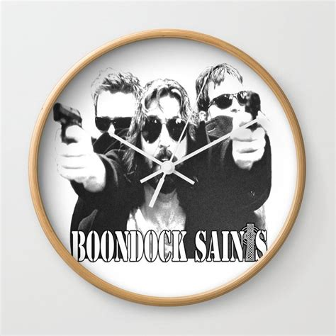 boondock saints wall clock  iceman society